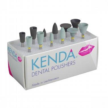 KENDA PRECIOUS METALS  - двухшаговая система полировки для всех драгоценных и полудрагоценных сплавов