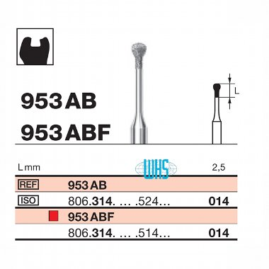 burs dental micro 5