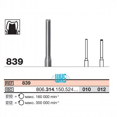 burs dental diamond 38