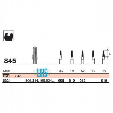 burs dental diamond 39