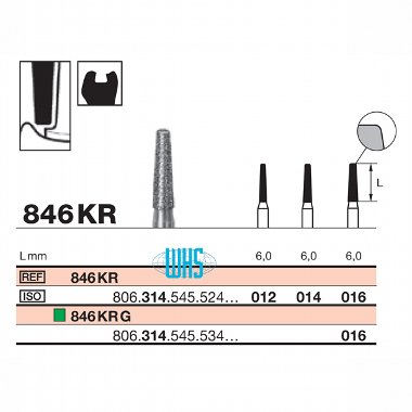 burs dental diamond 42