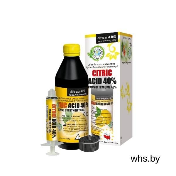 Citric Acid жидкость для промывания корневых каналов