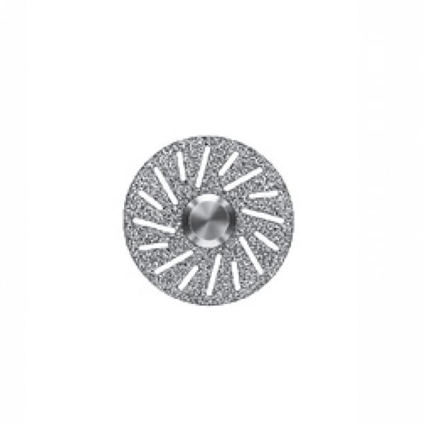 Алмазный диск с отверстиями под специальным углом